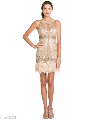 Feather Dress Ebay