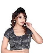 Sari Blouse Black
