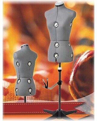 verstellbare Schneiderpuppe Schneiderbüste grau 151  Größe L