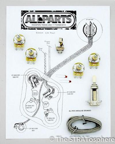 les paul pots parts   accessories ebay Gibson Humbucker Wiring-Diagram Epiphone Dot Studio Wiring-Diagram