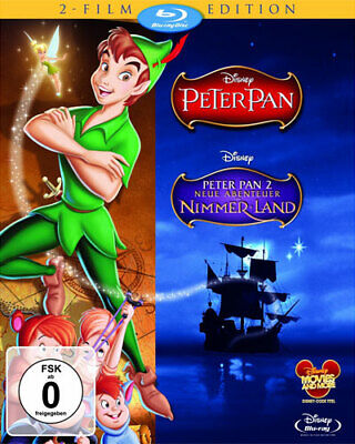 Peter Pan / Peter Pan 2: Neue Abenteuer in Nimmerland [Blu-ray] [Special Edition ()