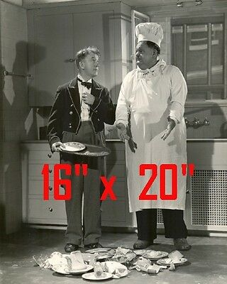 Laurel Hardychefrestaurant Decorphoto Poster 16 X 20