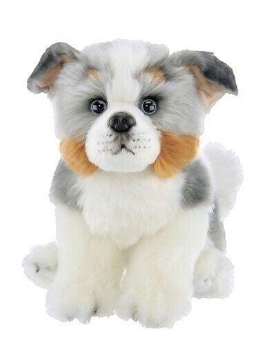 BEARINGTON Plush Toy AUSTRALIAN SHEPHERD Stuffed Puppy Animal Sheepdog AUSSIE