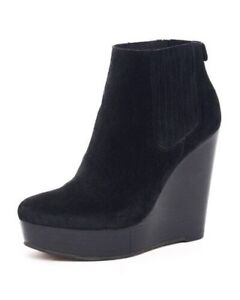 MICHAEL MICHAEL KORS - suede wedge ankle boot (7)