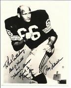 Ray Nitschke Autograph