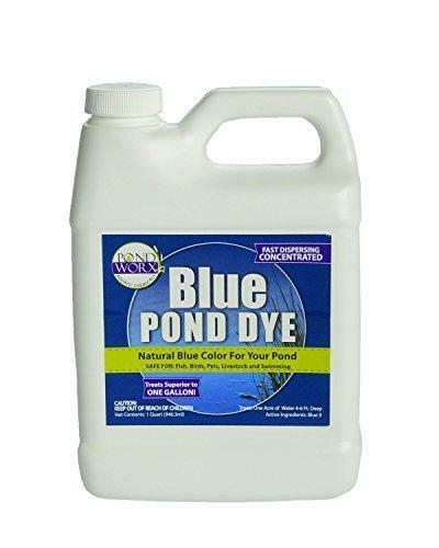 PondWorx Lake and Pond Dye - Blue Ultra Concentrated - 1 Quart