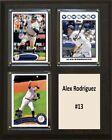 Alex Rodriguez MLB Plaques