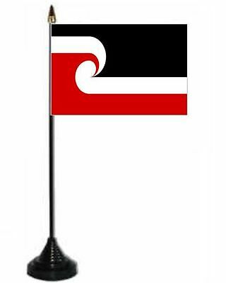 Maori New Zealand Desk Table Top Flag