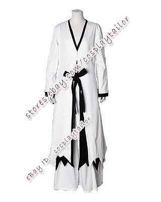 Bleach Ichigo Halloween Costume (Bleach Cosplay Ichigo Kurosaki Male Party Uniform Costume Halloween White)