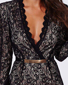 Cocktail Dress, dentelle noir