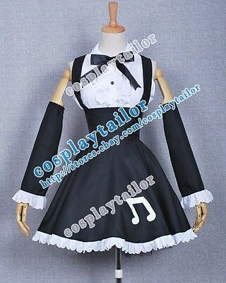Vocaloid 2 Cosplay Project Diva Outfit Hatsune Miku Black Dress Fit You Best