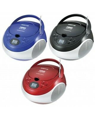 NAXA Electronics Portable CD Player with AM/FM Stereo Radio NEW