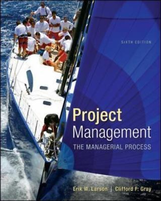 Project Management   The Managerial Process 6Th Intl Edition