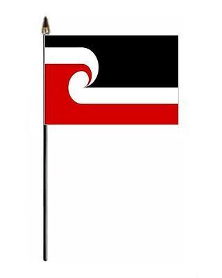 Maori New Zealand Hand Flag - small