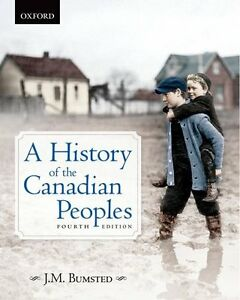 A History of the Canadian Peoples (Fourth Edition) Textbook