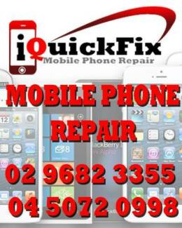 MOBILE PHONE REPAIRS IPHONE IPAD SAMSUNG HTC ETC. Parramatta Parramatta Area Preview