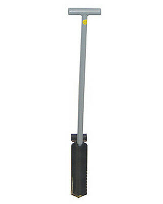 """Lesche Ground Shark Shovel 36"""" with T-Handle and Serrated Edge with Step for sale  Fort Worth"""