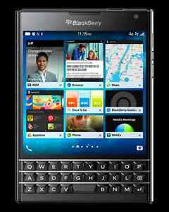 New Blackberry Passports for sale direct from Blackberry-$329