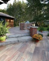 Landscaping:  Outdoor Living Design and Build