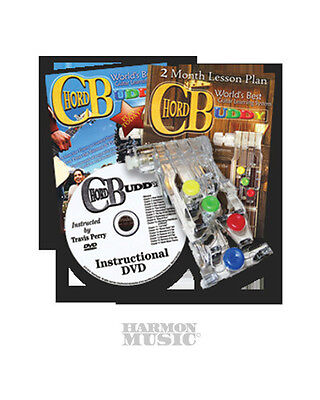 CHORD BUDDY LEARN TO PLAY GUITAR EASY SYSTEM DVD BOOK CHORDBUDDY LESSONS on Rummage