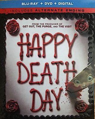 Happy Death Day (Blu-ray/DVD/Digital) NEW w/SLIP