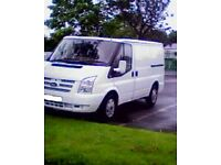 05 TRANSIT NEW SHAPE FRONT FITTED SPENT FORTUNES ON IT LOOKS LIKE A NEW VAN VERY GD CONDITION