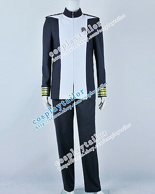Star Trek Into Darkness Admiral Marcus Gray Uniform Cosplay Costume High Quality - High Quality Star Trek Uniform