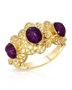New Women's Ring With 2.40ctw Genuine Rubies