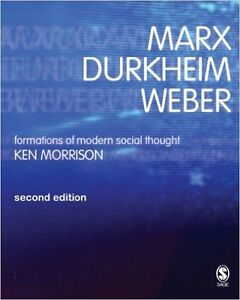 Marx Durkheim Weber- Formations of Modern Social Thought Cambridge Kitchener Area image 1