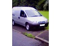 citroen dispatch 1.9 diesel 10 months mot 120k good condition 2 side doors ply lined great runner