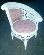 Beautiful Vintage Wicker Chair