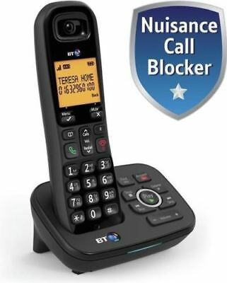 BT 1700 SINGLE DIGITAL CORDLESS TELEPHONE & ANSWER PHONE & CALL BLOCKER