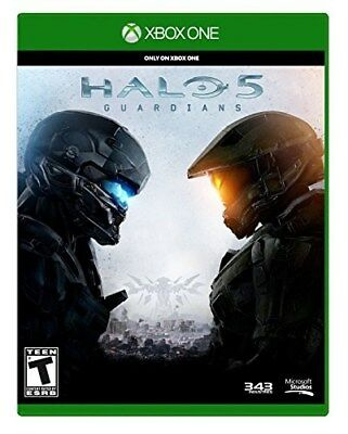 XBOX ONE XB1 GAME HALO 5 GUARDIANS BRAND NEW AND SEALED