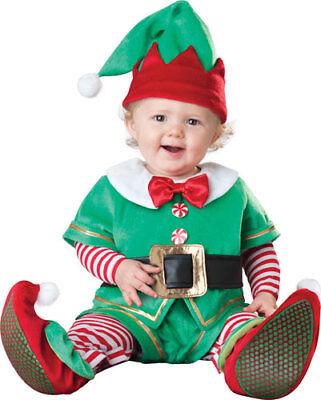 Baby Santa's Elf Christmas Halloween - Elf Infant Costume