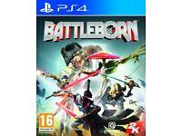 PS4 GAMES x 2 Battleborn & Star wars Battlefront, Both New & Sealed