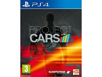 PS4 project cars WANTED