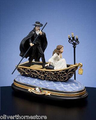 San Francisco Music Box ~ Phantom of the Opera ~Journey to the Lair Figurine NIB