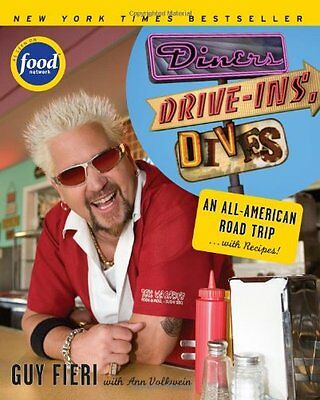 Diners, Drive-ins and Dives: An All-American Road Trip . . . with Recipes! by Gu