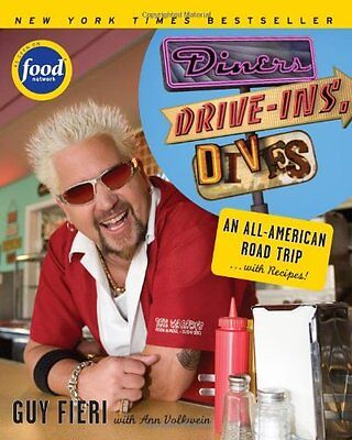 Diners  Drive Ins And Dives  An All American Road Trip       With Recipes  By Gu