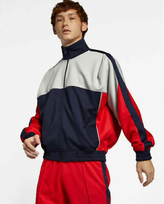 Nike Nikelab x Martine Rose Track Jacket Blue Grey AQ4456 416 NEW XLarge $250