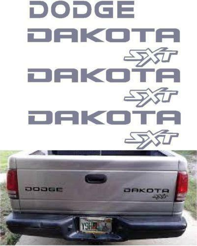 Dodge Dakota Decals Ebay