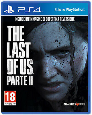 THE LAST OF US 2 PS4 - PARTE II - PLAYSTATION 4 - ITALIANO STANDARD PLUS EDITION