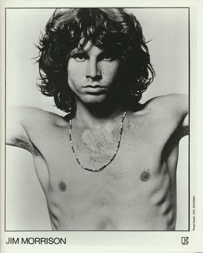 Doors/Jim Morrison VTG B/W Promo 8x10 Photograph Publicity Rock Photo Elektra E