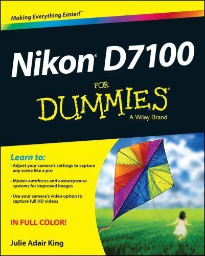 Nikon D7100 For Dummies by Julie Adair King 9781118530467 (Paperback, 2013)