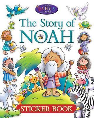 Die Geschichte von Noah : Aufkleber Buch ( Kerze Bible für Kleinkinder) Juliet