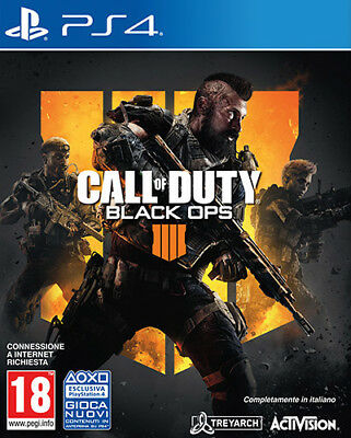 Call of Duty: Black Ops 4 - PS4 - NUOVO/SIGILLATO - [PS40845]