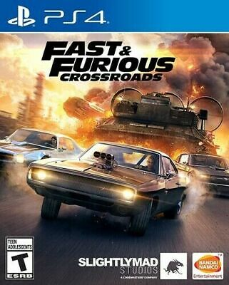 Fast & Furious Crossroads PS4 PlayStation 4 Brand New Sealed