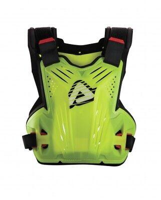 Adult Impact MX Roost Deflector Flo Yellow Body Armour Motocross Neck Brace Comp