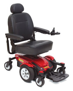 Jazzy Select 6 Power Wheelchair (red)