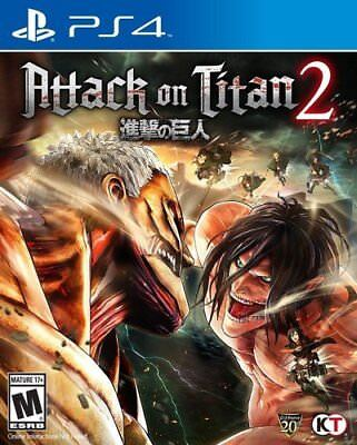 Attack on Titan 2 (Sony PlayStation 4, 2018) Brand New